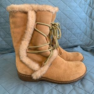 MIA fake fur lined boots